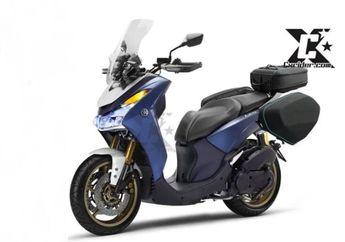 Motor Belum Diproduksi, Eh Udah Ada yang Modif Yamaha Lexi 125 Bergaya Adventure