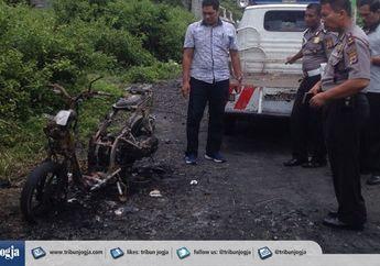 Polisi Temukan Motor Misterius di Jogja, Warga Tidak Ada yang Mengaku!