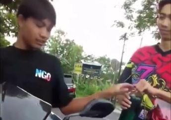 Viral Video Bikers Idaman, Cewek Mana yang Enggak Terbang Kalau Diperlakukan Begini