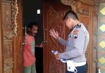 Video Polisi Bikin Dengkul Kopong Pemilik Rumah, Eh Enggak Taunya Cuma..