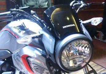Aksesoris Resmi Bikin Honda CB150 Verza Tambah Ganteng, Harganya Bikin Melongo