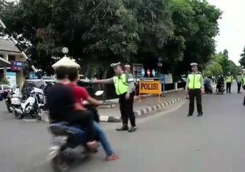 Heboh! Polisi Gelar Tilang Idol, 2 Pemuda Zaman Now Dapat Golden Tiket Karena Enggak Pakai Helm