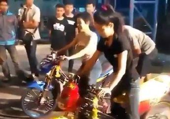 Bikers Wajib Tahu, Begini Asal Muasal Ramai Cewek Cabe-cabean di Arena Balap Liar