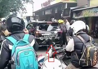 Viral Video Tabrak Lari di Bandung, Motor Korban Terseret Mobil Sejauh 3,5 Km