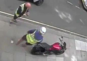 Video Geng Motor Berulah di Jalanan, Kocar-kacir Tinggalin Motor Setelah Dikepung