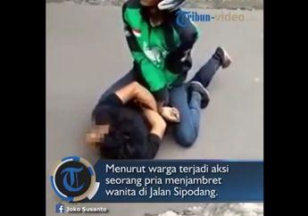 Video Detik-detik Aksi Heroik Driver Ojol Ringkus Rampok di Semarang
