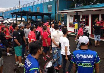 Astaga! Maling Jarah Barang Milik Pembalap di Sirkuit Sentul