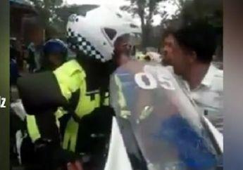Detik-detik Polisi Nyaris Dikeroyok Usai Tabrak Warga Saat Kawal Rombongan Moge
