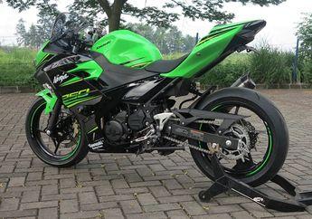 Dari Jauh Tampang Kawasaki Ninja 250 Tahun 2018 Ini Garing Banget, Begitu Dekat Wow Horang Kaya...