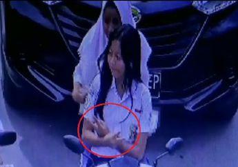 Jadi Nyengir.. Terciduk CCTV Gak Pakai Helm, Dua Bikers Malah Gaya Biar Eksis