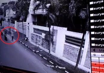 Miris! Video Bocah di Bawah Umur Terekam CCTV Melakukan Aksi Penjambretan