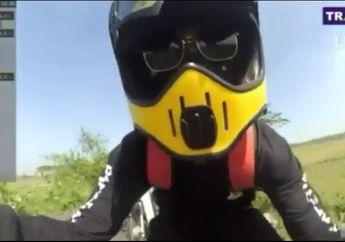 Kocak.. Gaya Sih MotoGP Banget, Padahal yang Dipake Cuma Motor Begituan
