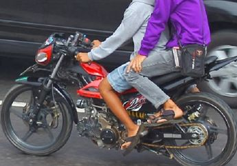 Perhatian buat Kidz Zaman Now, Motor Tanpa Sepatbor Siap Setor Rp 500 Ribu ke Polisi atau Penjara 2 Bulan