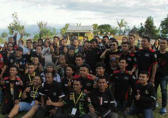 Family Gathering Keluarga Besar YRFI Gorontalo Gelar Camping Bikers dan Baksos