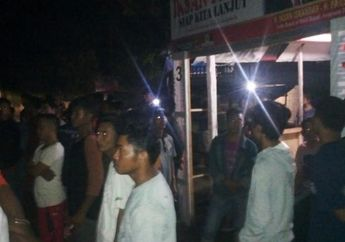 Mencekam! Gara-gara Suara Knalpot Motor, Puluhan Anak Muda Bentrok di Jeneponto