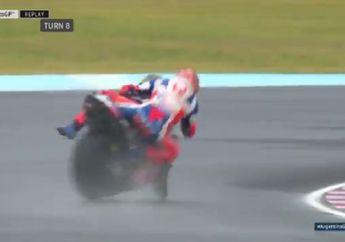 Detik-detik Jack Miller Nyaris Terjungkal Mencium Gravel di Kualifikasi MotoGP Argentina