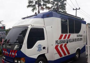 Walaupun Tanggal Merah, SIM Keliling di Jakarta Tetap Melayani Pemohon, Nih 4 Titik Lokasinya