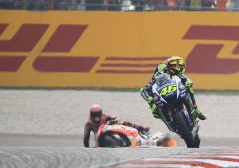 Insiden Tragis MotoGP Malaysia 2015, Valentino Rossi Masih Kesal dengan Marc Marquez
