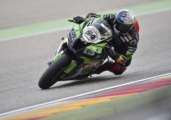 Sempat Diberhentikan Akibat Insiden, Jonathan Rea Menang di Race 1 WSBK Aragon