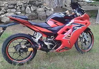 Anjay! Motor Bebek Dimodifikasi Jadi Motor Sport, Pakai Fairing Honda CBR