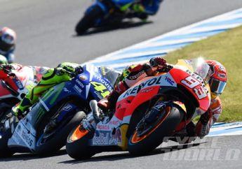 Tercyduck! Video Ini Buktikan Kalau Marc Marquez Contek Cara Menyalip Valentino Rossi