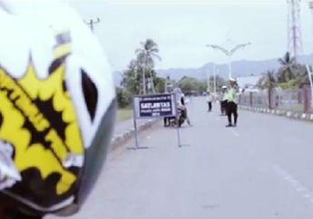 Heboh! Video Anak Kecil Naik MiniGP Terobos Operasi Razia, Polisinya Melongo