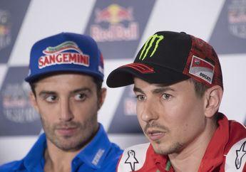 Walaupun Dua Kali Podium, Posisi Andrea Iannone di Suzuki Diancam Jorge Lorenzo