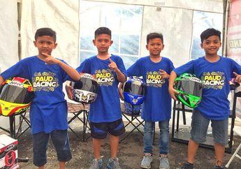 Bikin Geger, Paud Racing Tiba-tiba Muncul di Balap Road Race