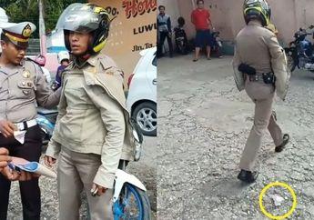 Nekat! Video Anggota Satpol PP Marah Karena Ditilang, Langsung Buang Surat Tilang di Depan Polisi