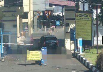 Breaking News! Halaman Parkir Polrestabes Surabaya Kembali Diguncang Bom Motor