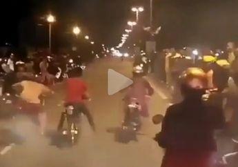Usai Lakukan Balap Liar Yang Enggak Berfaedah, 43 Remaja Diciduk Polisi Surabaya
