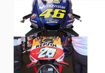 Fairing Baru Honda RC213V Contek Punya Yamaha YZR-M1? Mirip Sih, Tapi..