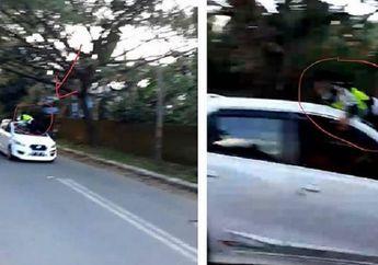 Sadis... Video Oknum TNI Tabrak Polantas, Pelaku Kesal Saat Ditanya Surat Kendaraan