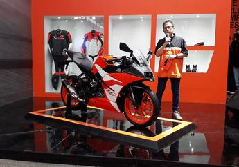Wuih... New KTM RC 250 SE Resmi Diluncurkan di Jakarta Fair Kemayoran, Harganya Bikin Lemes