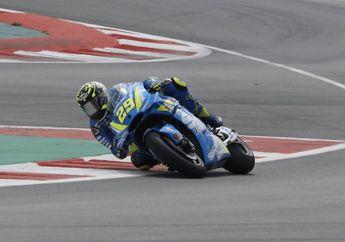 Banyak Yang Tumbang, Andrea Iannone Pimpin Hasil FP2 MotoGP Italia
