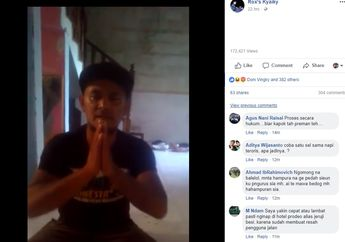 Oknum Pengibas Pedang di Bandung Minta Maaf, Seorang Netizen Mau Nangis Dengar Ucapan Pelaku