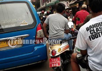 Motor Pakai Plat Nomor Thailand Banjiri Puncak Bogor, Polisi Malah Bilang Begini