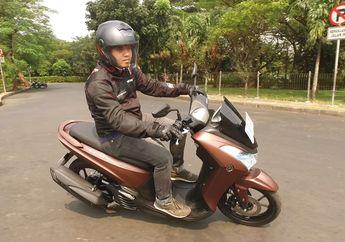 Pakai Tangki Model Begini, Motor Yamaha Lexi Dijamin Jarang ke Pom Bensin