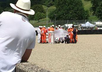 Heboh.. Tersebar Foto Kondisi Terakhir Michele Pirro Setelah Terjatuh Keras di MotoGP Italia
