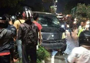Ini Kronologi Kenapa Ratusan Pemotor Kepung Toyata Alphard di Surabaya