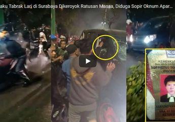 Viral! Pelaku Pengemudi Toyata Alphard Yang Tabrak Lari di Surabaya, Ternyata Diduga Oknum Aparat Kemenkumham