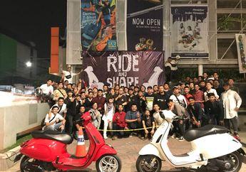 Keren.. Ada Kegiatan Mempersatukan Semua dan Komunitas Vespa Matic di Bandung
