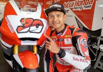 Dimas Ekky Tambah Cepat di FP3 Moto2 Spanyol, Adik Marquez Disikat Murid Rossi