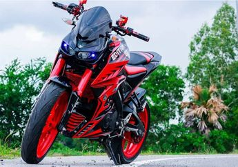 Ngerih! Begini Yamaha Xabre Kalau Keracunan Bodi Kawasaki, Kreatifitas Tanpa Batas