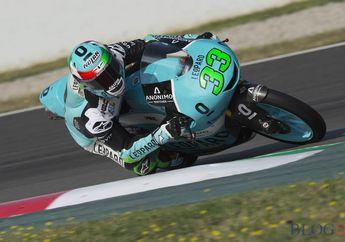 Hasil Balap Moto3 Spanyol, Banyak Pembalap Tumbang, Bastianini Sempurna
