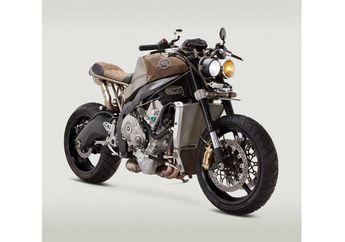 Motor Modifikasi Ini Terlihat Enggak Banget, Ternyata Basic-nya Superbike Sob...
