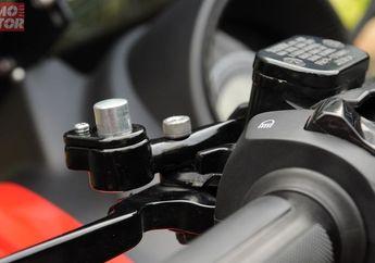 Biar Gak Pegal di Tanjakan, Pasang Parking Brake Lock di Skutik Yamaha NMAX, Harga Terjangkau
