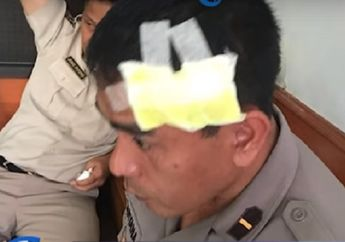 Viral... Perwira Menengah Polisi Ngamuk, Kepala 7 Anggota Terluka Akibat Dihajar Pakai Helm