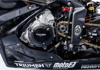 Heboh.. Usai Uji Coba, Mesin Honda Bakal Digantikan Mesin Triumph di Moto2 Musim Depan