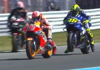 Ketat! Starting Grid MotoGP Belanda, Marc Maquez Urutan Pertama Valentino Rossi  Mengancam